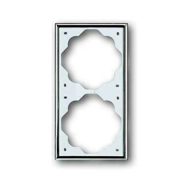 ABB 2CKA001754A4134 Impuls Rámeček dvojnásobný, pro vodorovnou i svislou montáž