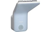 HAG EE610 Detektor pohybu 140 ° s LED svítidlem 15W, IP55, bí