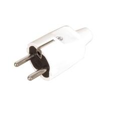 FAM Vidlice 1105-B IP20/230V/16A - domovní, PVC, bílá