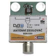 EMOS J5803 PŘEDZESIL.ANTENNÍ 30dB VHF/UHF