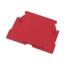 Koncová přepážka RSA 2,5 A / RS 4 - červená