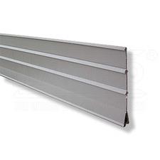 wpr7098 W-SESG rozdělovací lišta / všechny výšky 40/60/80 mm, šedá RAL 7030, d.: 2m