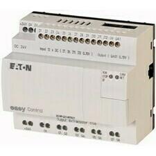 EATON 106396 EC4P-221-MTAX1 Řídicí relé easyControl, provedení bez displeje, 12 DI (4 AI), 8 DO, 1 A