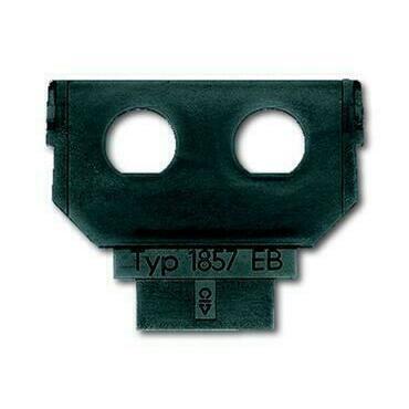 ABB 2CKA001764A0083 Sdělovací technika Maska nosná - 2x vestavná kabelová zásuvka BNC/TNC