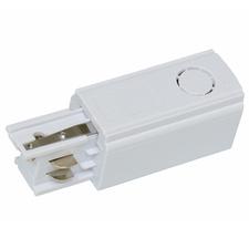 ECOPLANET Adaptér napájení na 3-fázové lišty, pravý, bílý