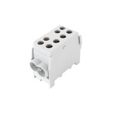EL 1003121 Svorkovnice rozbočovací HLAK 35 1/2 M2, 125A, 1pól., AL/CU, IP20, šedá, na DIN /2080141