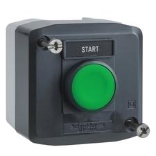 SCHN XALD101H29 Ovládací skříňka jednotlačítková lícující, 1 Z RP 0,15kč/ks
