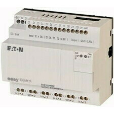 EATON 106406 EC4P-222-MRAX1 Řídicí relé easyControl, provedení bez displeje, 12 DI (4 AI), 6 RO, 1 A