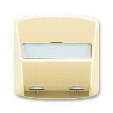 ABB 5013A-A00215 D Tango Kryt zásuvky telefonní, dvojnásobné (pro přístroj 5013U)