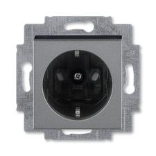ABB 5520H-A03457 69 Jiné systémy zásuvek Zásuvka jednonásobná s ochrannými kontakty (podle DIN), s c