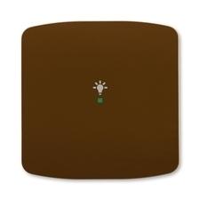ABB 6220A-A01001 H free@home Kryt 1násobný, symbol osvětlení