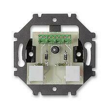 ABB 5013U-A00105 Přístroje Přístroj zásuvky telefonní dvojnásobné