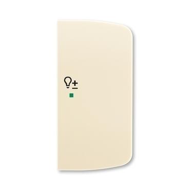 ABB 6220A-A02204 C free@home Kryt 2násobný pravý, symbol stmívání