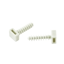 EL 1792005 Hmoždinka pro vázací (stahovací) pásek 8x36, bílá, PA 6.6, (bal.=100ks) /ALE.2.402