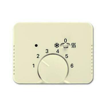 ABB 2CKA001710A4032 Alpha Kryt termostatu pro topení/ chlazení, s posuvným přepínačem