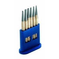 CIMCO 130354 Sada průrazníků s důlčíkem o 1 - 5 mm (6 ks)