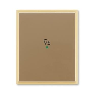 """ABB 6220E-A01004 25 free@home Kryt 1násobný, symbol """"stmívání"""""""