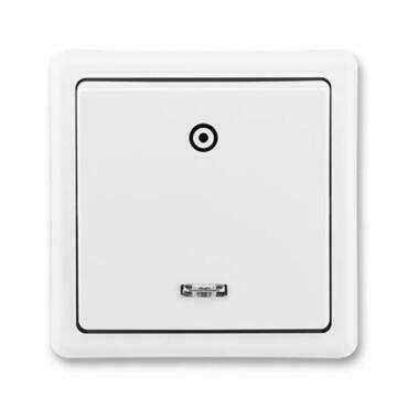 ABB 3553-93289 B1 Classic Ovládač zapínací, s orientační doutavkou, řazení 1/0So