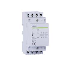 NOARK 102412 Ex9CH25 40 230V 50/60Hz Instalační stykač, 25 A, ovl. 230 V, 4 NO  kontakty