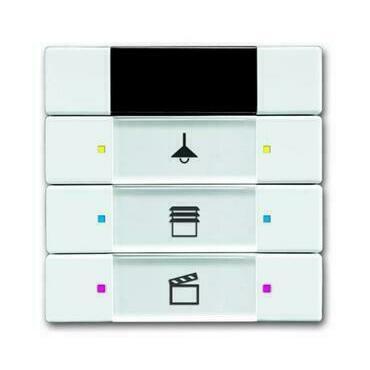 ABB 2CKA006135A0146 KNX Prvek ovládací 3- / 6násobný s IR rozhraním
