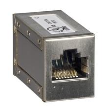"""SCHN TRV00870 5 RJ45 konektorů """"samice/samice"""" RP 0,02kč/ks"""
