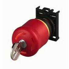 EATON 216514 M22-PVS/K01 Ovládací hlavice nouzového zastavení, se zámkem, kompletní přístroj, 1V