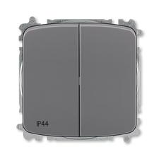 ABB 3559A-A05940 S2  Přepínač sériový, s krytem, řazení 5, IP44, bezšroubové svorky 25-IPxx Přepínač