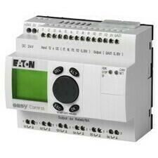 EATON 106397 EC4P-221-MRAD1 Řídicí relé easyControl, provedení s displejem, 12 DI (4 AI), 6 RO, 1 AO