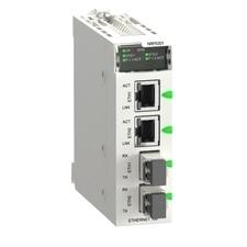 SCHN BMXNRP0201 >Modicon x80 media konvertor, 2xRJ45 Ethernet, 2xLC konektory, single-mode RP 0,27kč