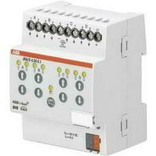ABB 2CDG110128R0011 KNX Řadový žaluziový akční člen 4násobný, 24 V DC, detekce pohybu a man. ovládán