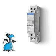 FINDER instalační relé 22.24.9.024.4000, 2R/20A, 24V DC