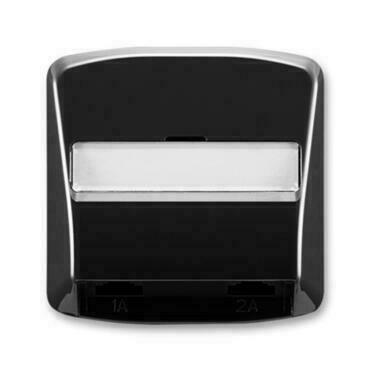 ABB 5013A-A00215 N Tango Kryt zásuvky telefonní, dvojnásobné (pro přístroj 5013U)