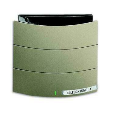 ABB 2CKA006320A0010 KNX Triton prvek ovládací 1- / 2násobný s IR rozhraním