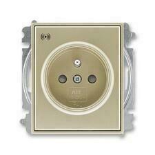 ABB 5589E-A02357 33 Time Zásuvka s přepěťovou ochranou, s akustickou signalizací poruchy