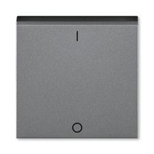 ABB 3559H-A00933 69 Kryt jednoduchý s potiskem a čirým průzorem (pro spínače řaz. 3S) Levit