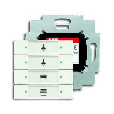 ABB 2CKA006117A0230 KNX Prvek ovládací 4násobný se sběrnicovou spojkou