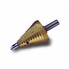 CIMCO 201210 Stupňový vrták HSS (TIN) M 12 - 40