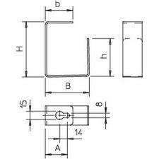 BSK-B1016 Rozpojovací třmen