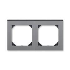 ABB 3901H-A05520 69 Levit Rámeček dvojnásobný s otvorem 55x55