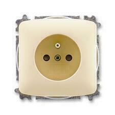 ABB 5519A-A02357 C Tango Zásuvka jednonásobná, chráněná, s clonkami, s bezšroub. svorkami