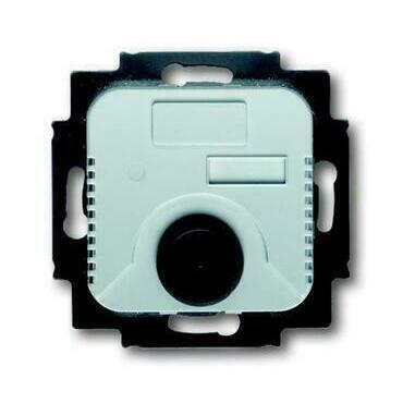 ABB 2CKA001032A0485 Přístroje Přístroj termostatu s otočným ovladačem, 1 A (1 AX), 24 V AC