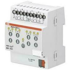 ABB 2CDG110125R0011 KNX Řadový žaluziový akční člen 4násobný, 230 V AC, detekce pohybu a man. ovládá