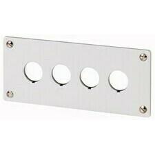EATON 216545 M22-E4 Čelní deska do panelu, Al, elox, IP65, 4 montážní místa