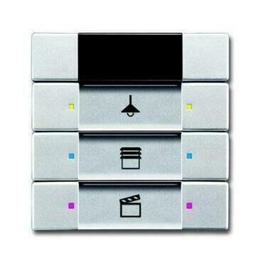 ABB 2CKA006135A0158 KNX Prvek ovládací 3- / 6násobný s IR rozhraním