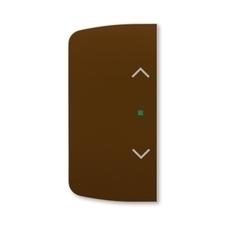 ABB 6220A-A02002 H free@home Kryt 2násobný levý/pravý, symbol žaluzie