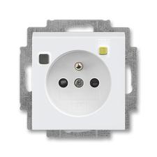ABB 5526H-A02369 03 Levit Zásuvka bezpečnostní s proudovým chráničem FI-DOS