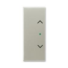 """ABB 6220E-A02002 32 free@home Kryt 2násobný levý/pravý, symbol """"žaluzie"""""""