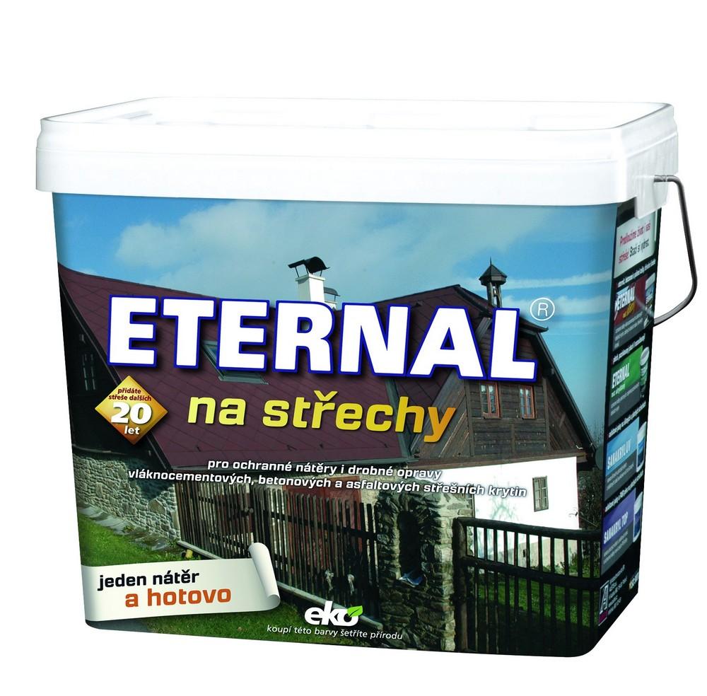 Barva ETERNAL na střechy šedá (302) 10 kg