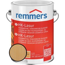 Lazura na dřevo Remmers HK Lasur farblos 2,5 l