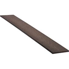 Lišta boční dřevoplastová WPC PERI odstín chocolate 150×12×2900 mm